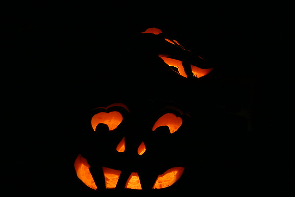 Lowell Tietje's Giant Jack-O-Lanterns