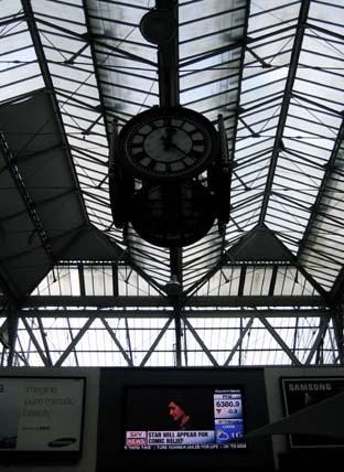 Speciaal voor Peter, de wachtverzachter van Waterloo station