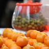 Mandarin oranges that signifies gold