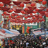 The crowd @ Chinatown doing the New year shopping before the eve