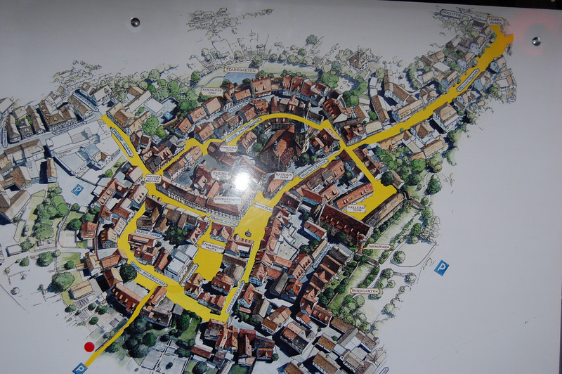 Map of Christmas Market