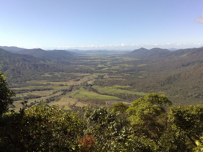 20090623_1202_554 View from Eungella Chalet over the Pioneer Valley.