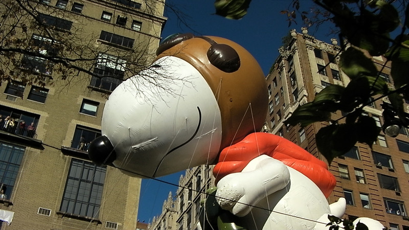 Snoopy as the Flying Ace