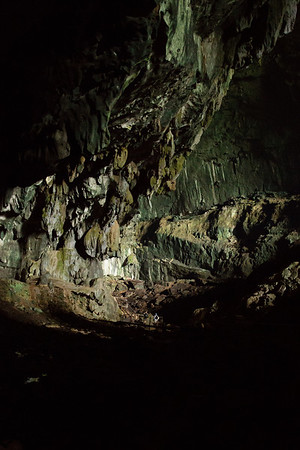 There is no artificial light in the cave. Groups are small and walk on the wooden bridge for most of the time to protect the cave.