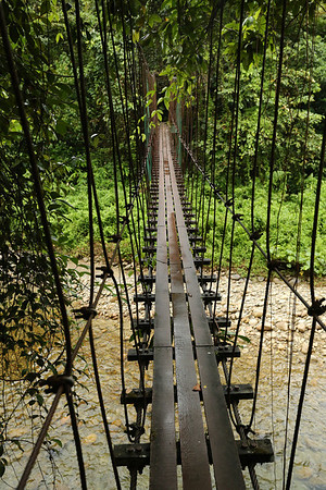 Sturdy bridges are found from time to time.