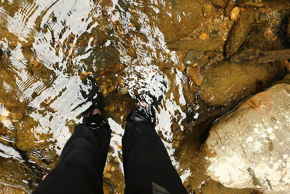 Adidas Kampung did their job again preventing injuries and falling due to slippery rocks.