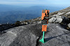 There are 2 routes for Via Ferrata. We picked the longer and more difficult one.