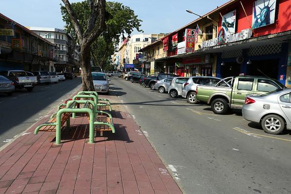 Downtown in Kota Kinabalu.