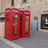 One of the most suprising things about Valletta to  first time visitor from the UK is the old, red, British telephone boxes.