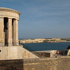 The Lower Bakkara Gardens provide some nice views of Malta's Siege Bell