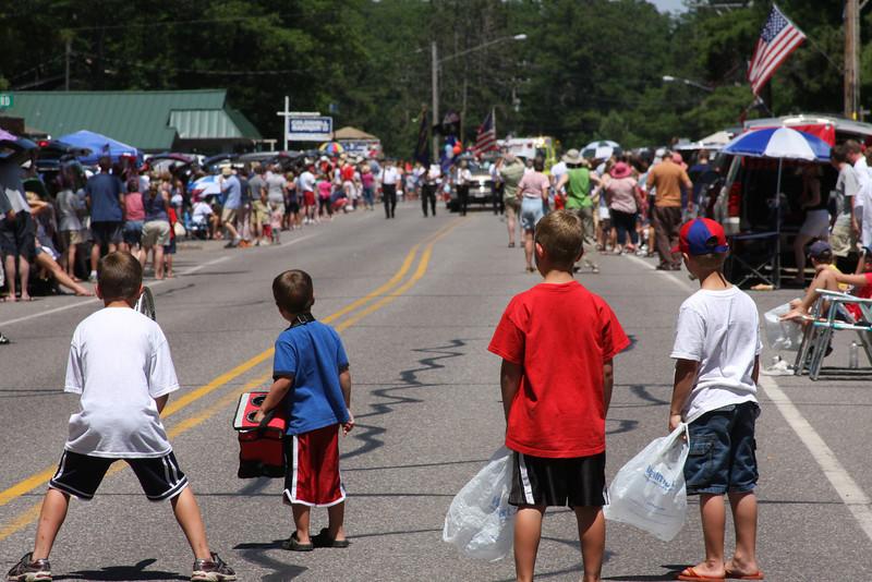 Manitowish Waters 4th of July Parade 2011