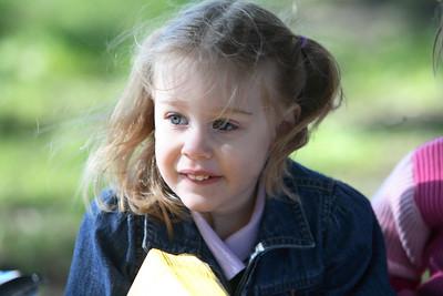 Birthday Girl in the wind