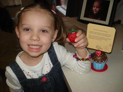 A walnut strawberry  Photo courtesy of the Hebert Family