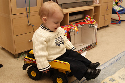 William in his birthday present.