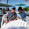 Lunch at Lorelei in Islamorada.