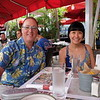 Had lunch at Lincoln Road Mall.