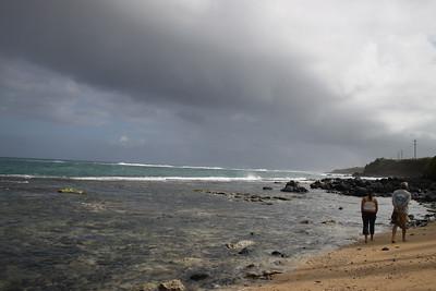 Sam and Dad, Kuau Cove