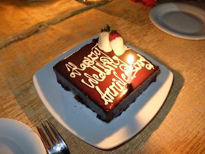 anniversary cake...mmmm