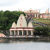 The main temple at the shrine to Siva and the other Hindu gods. The island has good relations between all the faiths.