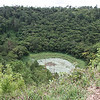 The extinct volcanic crater in the heart of Mauritius near the town of Curepipe.