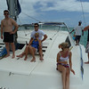 Our fellow catamaraners... a bunch of honeymooning Saffers and a couple of Germans.