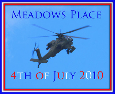 Meadows Place Texas 4th of July Parade 2010