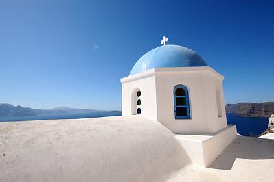 2008 Mediterranean Cruise: Santorini, Greece