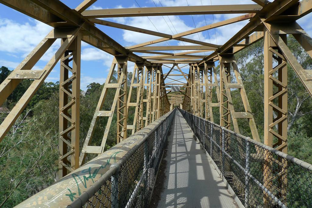 20120310_6258 pipe bridge crossing Yarra river, near Fairfield boathouse