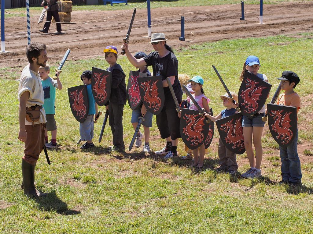 20131231_1409_1992 'Militia Training', Kryal Castle, Ballarat