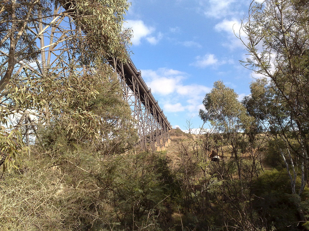 20080531 Maribyrnong River Trail. Rail bridge