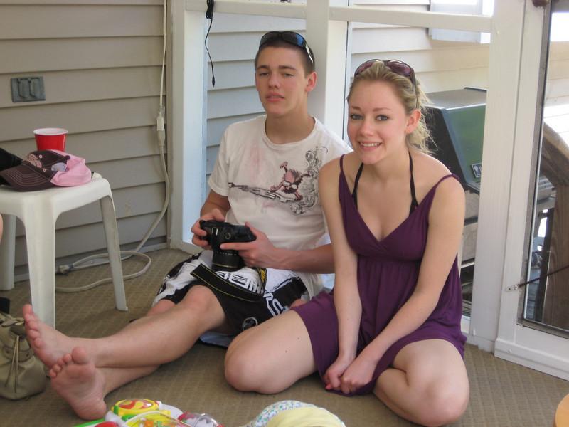 Casey & Brother Brett.