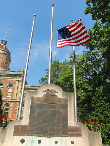 """Goshen War Memorial<br /> What mean ye by these stones? (Joshua 4:6)<br /> <br /> Article about the 2012 Memorial Day activities in Goshen: <a href=""""http://goshennews.com/breakingnews/x1647287978/Several-events-marked-Memorial-Day-in-Goshen"""">http://goshennews.com/breakingnews/x1647287978/Several-events-marked-Memorial-Day-in-Goshen</a>"""