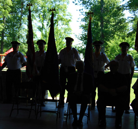 Debbie Blank | The Herald-Tribune<br /> The Batesville Veterans of Foreign Wars Post 3183 and Prell-Bland American Legion Post 271 members have carried on the Memorial Day tradition for many years.