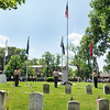 John P. Cleary | The Herald Bulletin<br /> Memorial Day Remembrance Ceremony at Maplewood Cemetery.