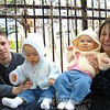 We took the girls to Minocqua Brewing Company...it is completely legal to take babies to the bar in WI.