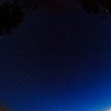 The northwest sky with the fisheye
