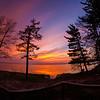 Sunset with the fisheye