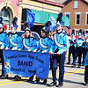 Debbie Blank | The Herald-Tribune<br /> The Franklin County High School Band provided the only music and it was rousing.