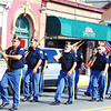 Debbie Blank | The Herald-Tribune<br /> A large contingent of Legionnaires stroll down Main Street.