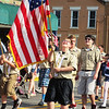 Debbie Blank | The Herald-Tribune<br /> Brookville Boy Scouts are happy to be part of the holiday procession.