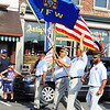 Debbie Blank | The Herald-Tribune<br /> Brookville Veterans of Foreign Wars Post 2014 members were among many local military groups that participated in the impressive parade, which drew a crowd.