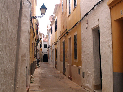 A small side street in Ciutadella