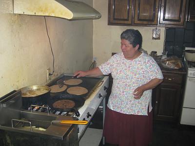 SUPER BURGER as muma cooks it