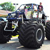 Debbie Blank | The Herald-Tribune<br /> Boy Scout Troop 631's off-road rescue vehicle was one of the tallest entries. Among other entries were a Milan fire truck, Ripley County EMS, Not One More (discouraging overdoses) and Milan Community Dollars for Scholars.