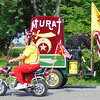 Debbie Blank | The Herald-Tribune<br /> Southeast Indiana Shrine Club members on their tiny motorcycles reminded spectators of all the good they do for injured and sick children.