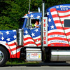 Debbie Blank | The Herald-Tribune<br /> The poignant Lawrenceburg truck in memory of Sept. 11, 2001, was one of perhaps 30 entries in the 20-minute procession.