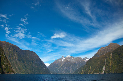 Cruise, Milford Sound, Fiordland, New Zealand