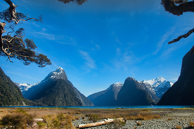 Milford Sound - Mitre Peak, Fiordland, New Zealand