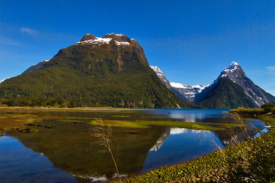 Milford Sound, Fiordland, New Zealand.  Just when I think there cannot possibly be another angle from which to capture the beauty of Milford Sound, I am surprised by a new scene.