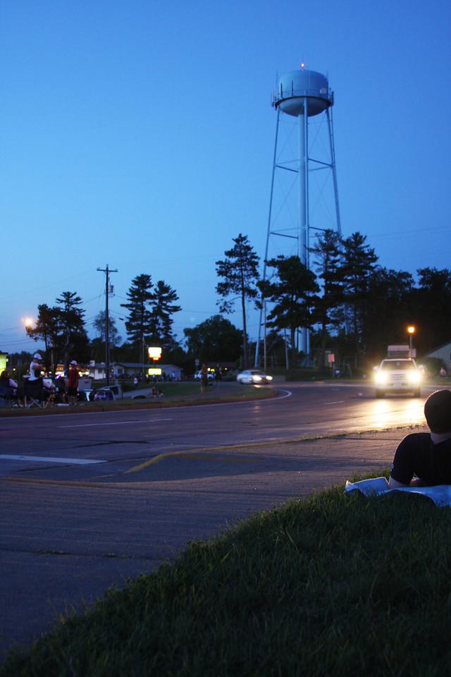 Minocqua 4th of July fireworks 2011